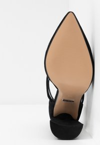 Topshop Wide Fit - WIDE FIT GRAPE FLARE - High heels - black - 6