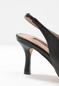 Topshop Wide Fit - WIDE FIT JESSIE POINT - Classic heels - black - 2