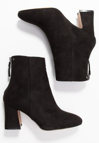 Topshop Wide Fit - WIDE FIT BELIZE BOOT - Classic ankle boots - black - 3