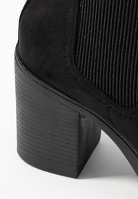 Topshop Wide Fit - WIDE FIT BYRON - Ankle boots - black - 2