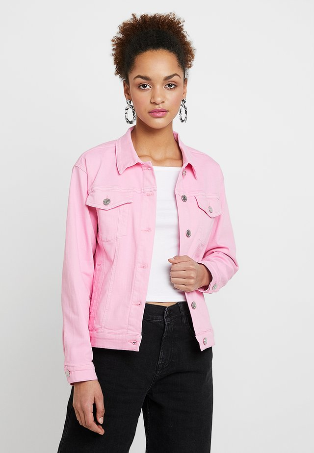 DYLAN - Denim jacket - blush