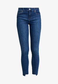 Tomorrow - DYLAN CROPPED - Jeans Skinny Fit - denim blue - 4
