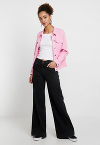 Tomorrow - KERSEE  - Flared Jeans - black - 1