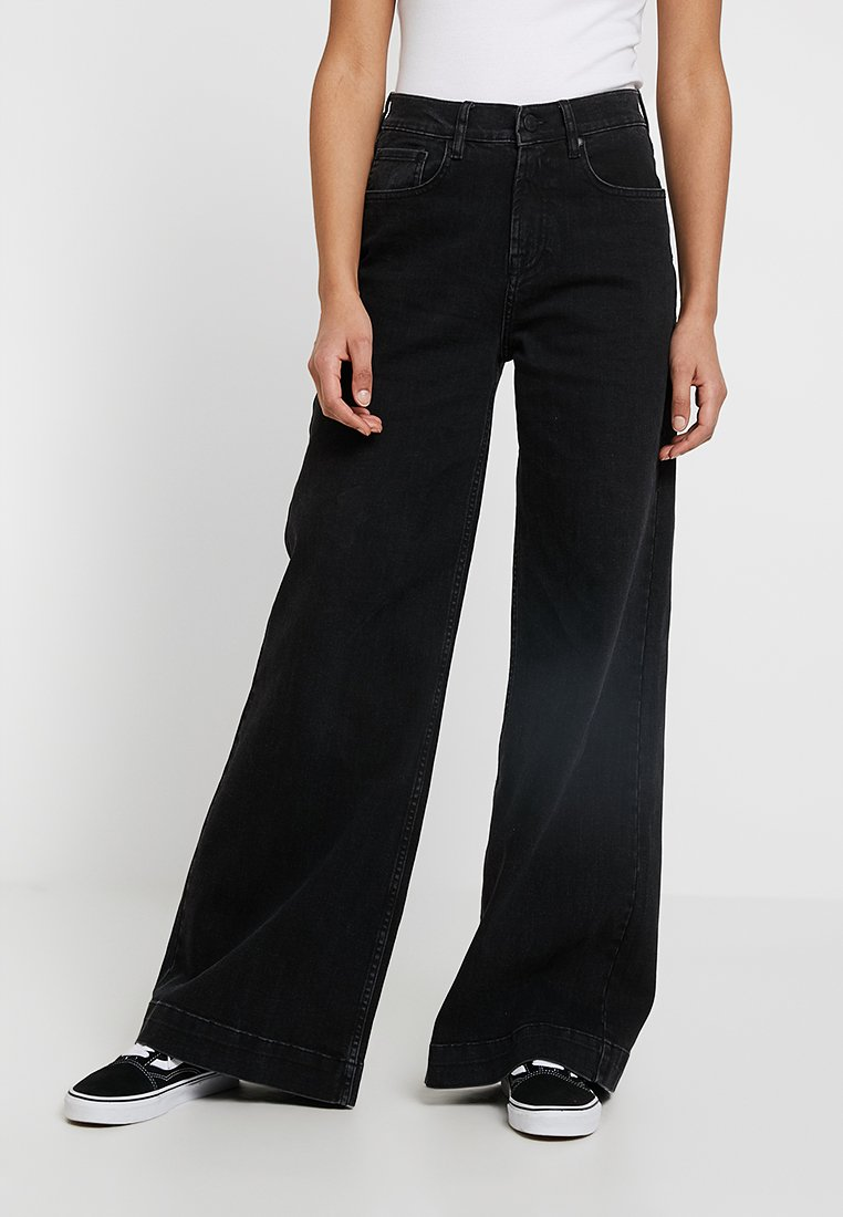 Tomorrow - KERSEE  - Flared Jeans - black