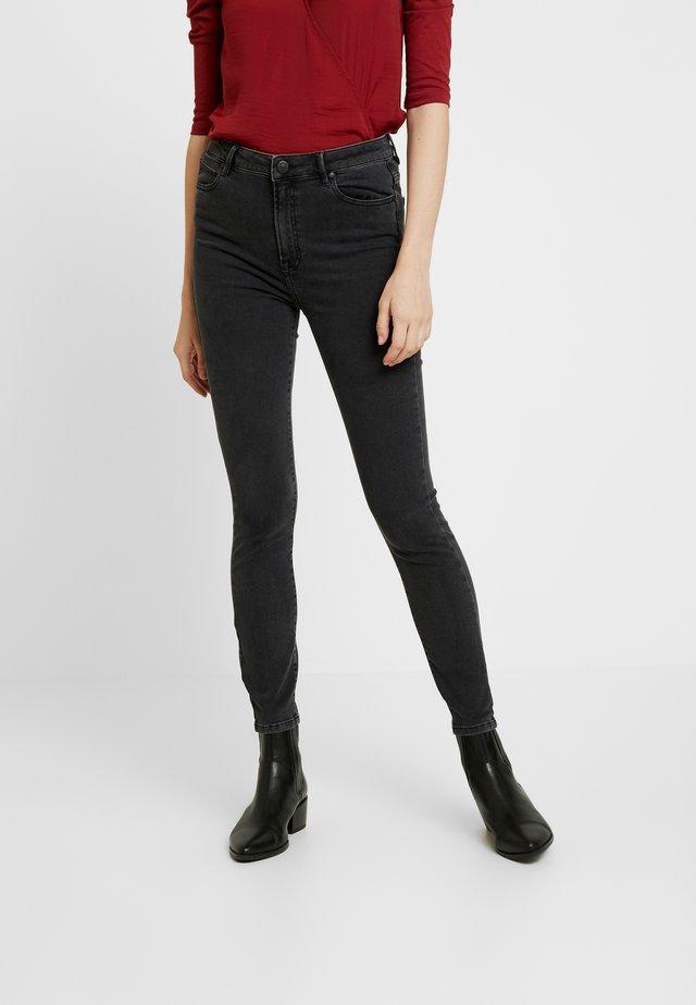 BOWIE CROPPED  - Skinny džíny - charcoal grey