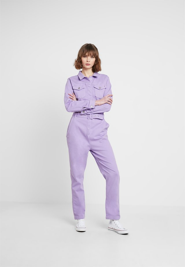 LINCOLN TRACK SUIT - Jumpsuit - dusty lilac