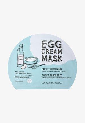 EGG CREAM MASK PORE TIGHTENING 28G - Gesichtsmaske - -