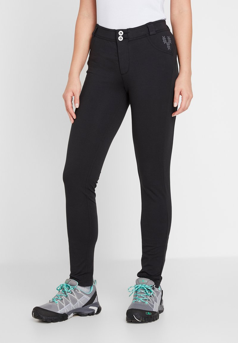 Torstai - Trousers - black