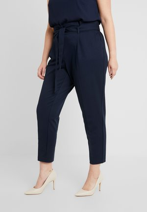 PAPERBAG PANTS - Pantaloni - sky captain blue