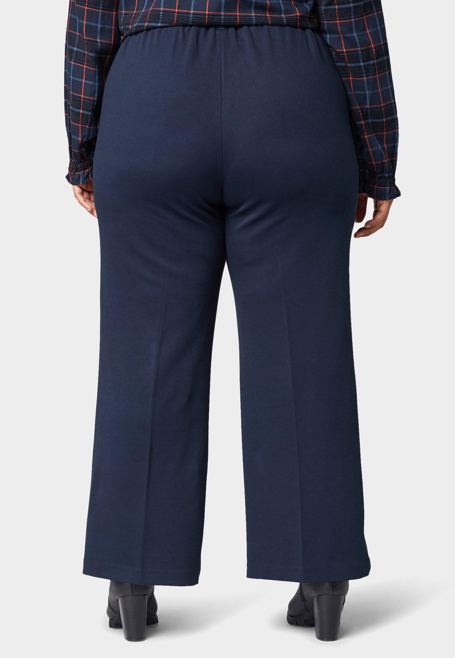 MY TRUE ME TOM TAILOR Pantalon classique sky captain blue