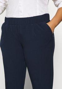 MY TRUE ME TOM TAILOR - SLEEK SUIT PANTS - Trousers - real navy blue - 5