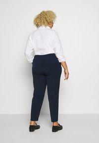 MY TRUE ME TOM TAILOR - SLEEK SUIT PANTS - Trousers - real navy blue - 2