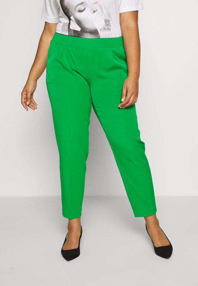 SLEEK SUIT PANTS - Stoffhose - gras green