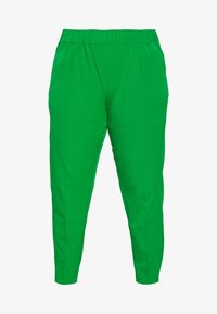 MY TRUE ME TOM TAILOR - SLEEK SUIT PANTS - Kangashousut - gras green - 3