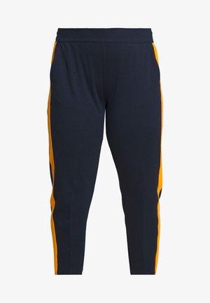 ELASTIC WAIST PANTS - Pantalon classique - real navy blue