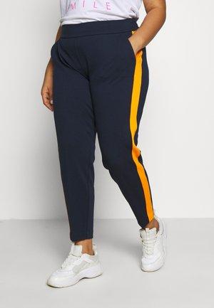 ELASTIC WAIST PANTS - Bukser - real navy blue