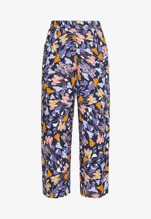 PALAZZO PANTS - Pantalon classique - blue