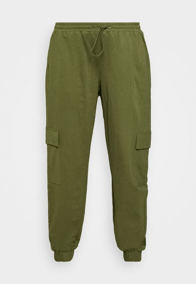UTILITY PANTS - Kalhoty - cypress olive green