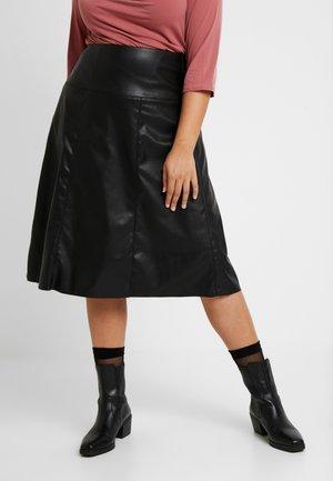 SKIRT - A-line skirt - deep black
