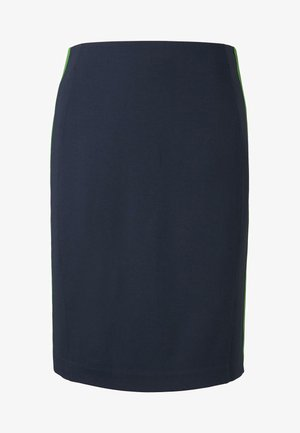 PANEL PENCIL SKIRT - Pencil skirt - real navy blue