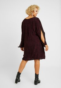 MY TRUE ME TOM TAILOR - SLEEVE SLIT DRESS - Kjole - burgundy/black - 3
