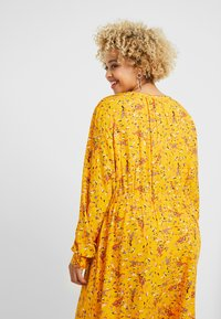 MY TRUE ME TOM TAILOR - WITH PINTUCKS - Day dress - yellow - 5