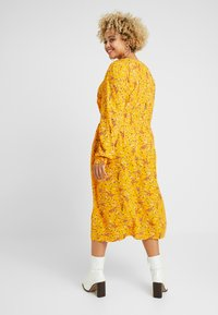 MY TRUE ME TOM TAILOR - WITH PINTUCKS - Day dress - yellow - 3