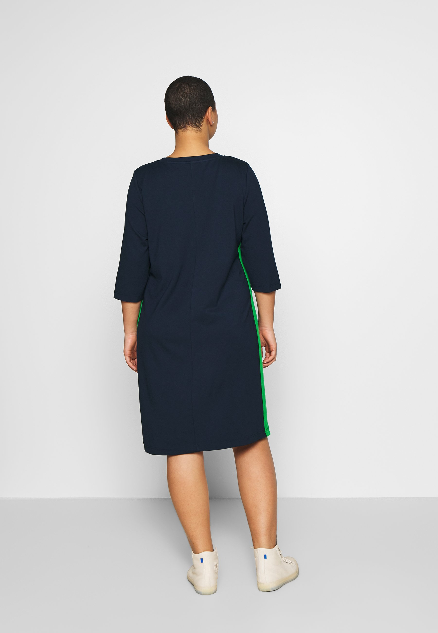 My True Me Tom Tailor Shift Dress - Jersey Real Navy Blue