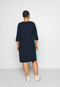 MY TRUE ME TOM TAILOR - SHIFT DRESS - Jersey dress - real navy blue - 2