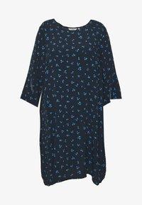 MY TRUE ME TOM TAILOR - FLARE SLIT SLEEVE DRESS - Robe d'été - navy/blue - 4