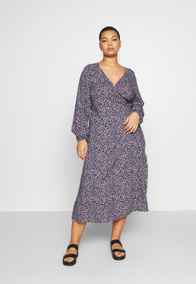 WRAP DRESS - Vardagsklänning - navy
