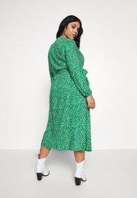 MY TRUE ME TOM TAILOR - WRAP DRESS - Day dress - green based design - 2