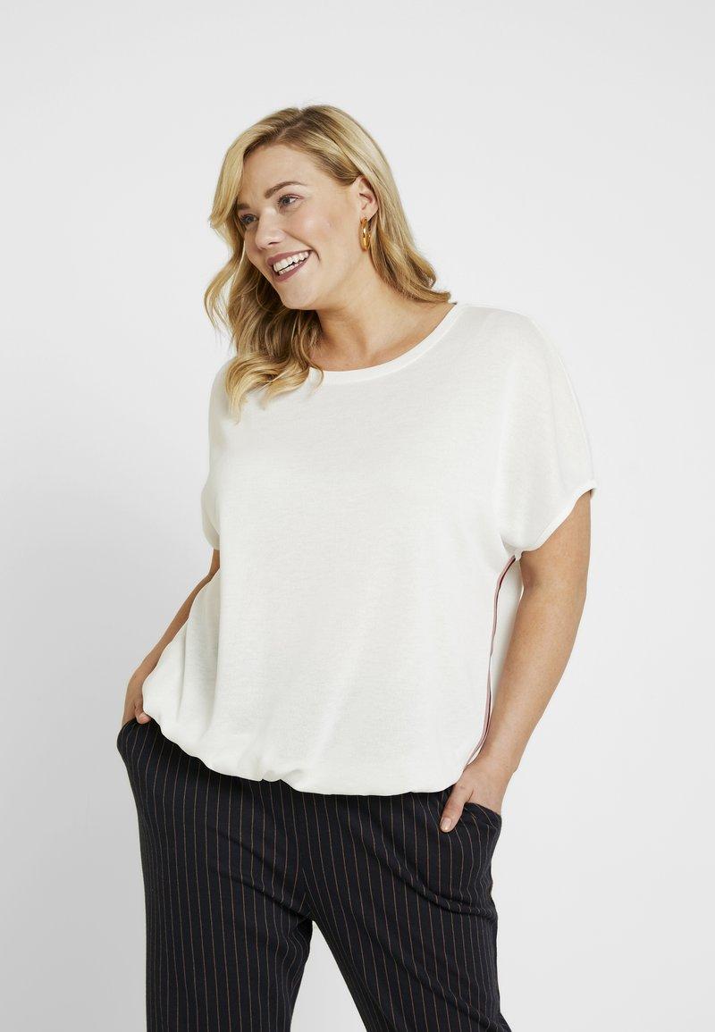 MY TRUE ME TOM TAILOR - Print T-shirt - whisper white