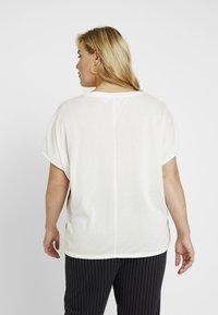 MY TRUE ME TOM TAILOR - T-shirt imprimé - whisper white - 2