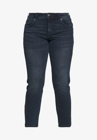 MY TRUE ME TOM TAILOR - BASIC LEG - Jeans slim fit - used dark stone - 3