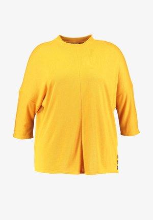 STAND UP COLLAR - Jumper - merigold yellow