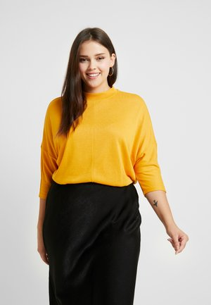STAND UP COLLAR - Jumper - merigold yellow