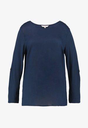 MIX TEE - Topper langermet - real navy blue