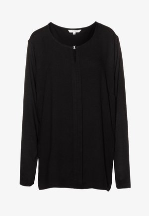 T-SHIRT - Langarmshirt - deep black