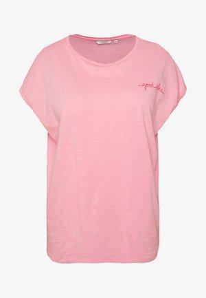 T-shirts med print - medium coral