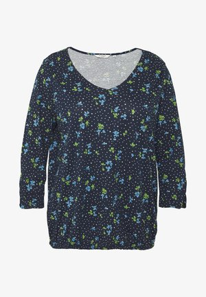 WITH SLEEVE DETAIL - T-shirt à manches longues - dark blue