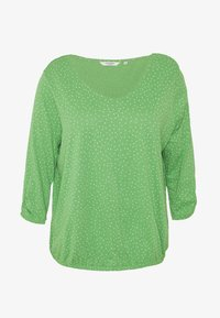 MY TRUE ME TOM TAILOR - WITH SLEEVE DETAIL - Long sleeved top - green - 4