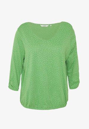 WITH SLEEVE DETAIL - Camiseta de manga larga - green