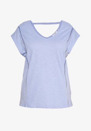 TAPE DETAIL - T-shirts basic - parisienne blue