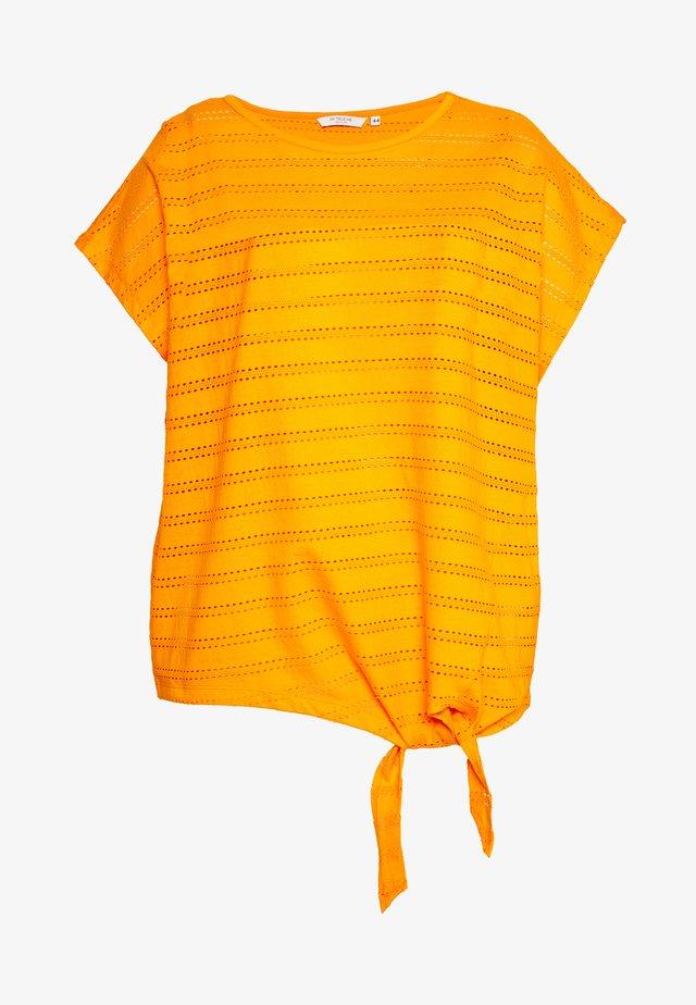 SHIFFLI WITH KNOT - Blouse - bright mandarin