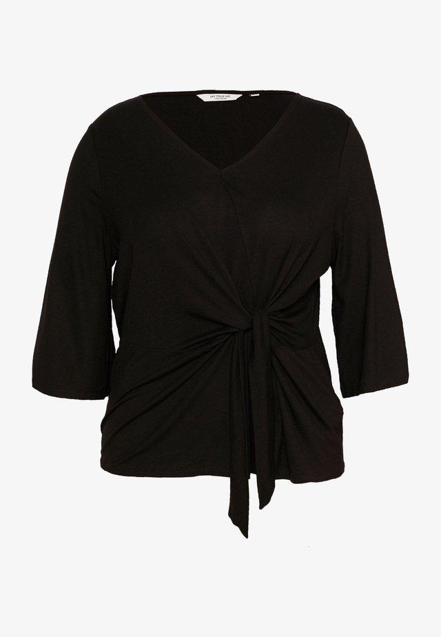 Bluse - deep black