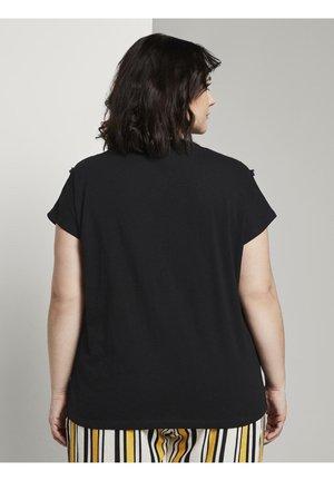 T-shirt basique - deep black