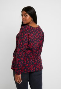 MY TRUE ME TOM TAILOR - BLOUSE WITH DRAWSTRING - Bluzka - navy - 2