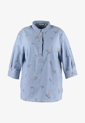 EMBROIDERED BLOUSE - Bluser - blue