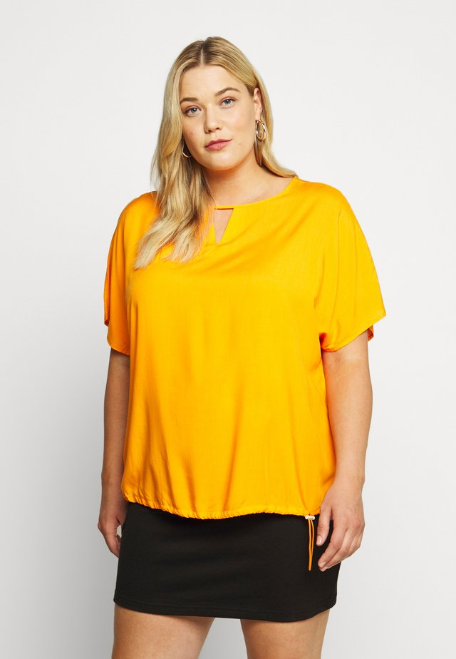 EASY - Blus - bright mandarin